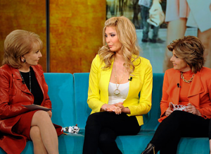 Jenna and Gloria Allred on the View